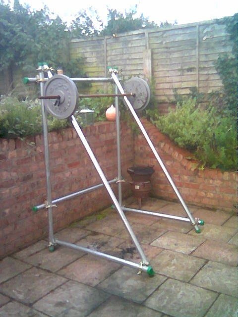 rack homemade power rack squat wood power rack squat weight squat rack ...