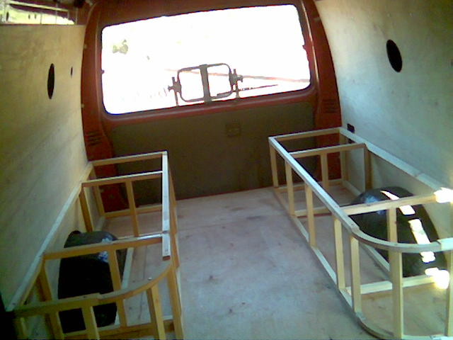 Famous custom camper van interiors for Campervan interior designs