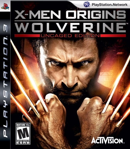 Wolverine Origins PS3 version