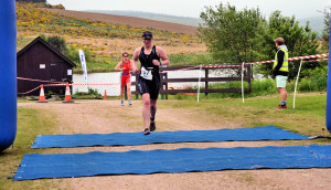 Knockburn Sprint finish line